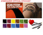 STARGAZER Semi-Permanent Tattoo Body Art Pen FULL COLOUR RANGE