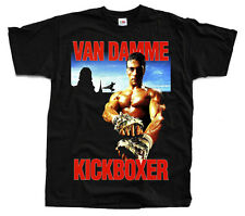 KICKBOXER Movie Poster, Jean-Claude Van Damme, ver. 2 T-shirt (Black) S-5XL