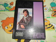 DIARIO Beautiful TV School Ware Agenda Vintage Diary