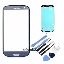 Pebble Blue Glass Lens Replacement for Samsung Galaxy SIII S3 i9300 i747 T999