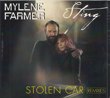 MYLENE FARMER & STING Stolen Car Remixes | Maxi-CD Neuware | Mylène 5 Tracks