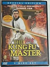 The Kung Fu Master Special Edition DVD Martial Arts 2 Disc Set Donnie Yen