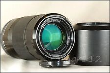 Sony Alpha SEL55210 55-210mm f/4.5-6.3 OSS E Mount Black Zoom Lens - Minty Cond