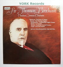 CFP 40358 - SIR THOMAS BEECHAM - Conducts Famous Overtures RPO - Ex LP Record