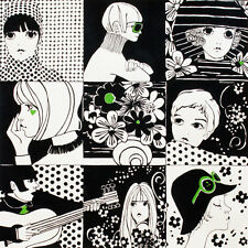 Chelsea White Black green Fashion Girls By the yard Alexander Henry