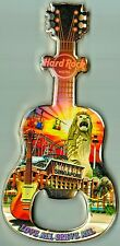 Hard Rock Hotel SINGAPORE Lion City Guitar Bottle Opener Magnet