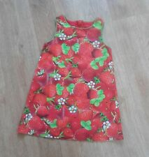TWINS NEXT Baby Girls Strawberry Dress 12-18 months 1 of 2
