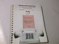 Telephone Message Forms 200 duplicate sets/Carbonles paper 4 forms per page
