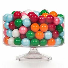 15cm Small Round Clear Plastic Candy Sweets Trifle Bowl Jar Container