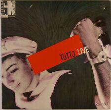 """2x12"""" LP-GIANNA NANNINI-TUTTO LIVE-k5080-Slavati & cleaned"""