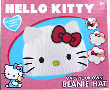 Hello Kitty -Create Make Your Own Beanie Hat Art and Craft Girl's Gift