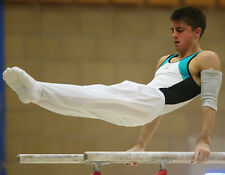 Max whitlock unsigned photo - 1744-anglais gymnaste-barres parallèles