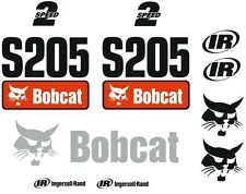 (ORIGINAL LOOK) BOBCAT S205 FULL DECAL STICKER SET KIT SKID STEER