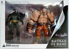 "BATMAN vs. BANE Arkham Asylum DC Collectibles 7"" inch Scale Figures 2-pack 2013"