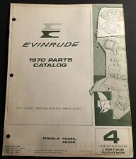 1970 EVINRUDE OUTBOARD 4 HP LIGHTWIN & YACHTWIN PARTS MANUAL P/N 279267  (121)