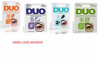 Duo Eyelash Lash Glue Adhesive. Brush On & Latex Free. Clear or Dark