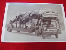 NEW 1958 CHEVROLET ON CAR HAULER  BIG  11 X 17  PHOTO PICTURE