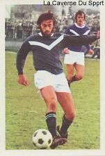 N°041 GUY FRAUNIER # GIRONDINS BORDEAUX STICKER AGEDUCATIF FOOTBALL MATCH 1973