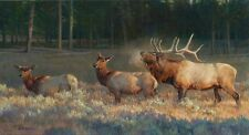 Wake Up Call by Nancy Glazier Limited Edition Giclee on Canvas 18x36