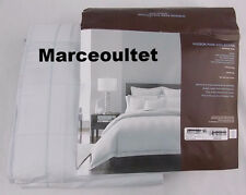 Hudson Park 600 Thread Count Stripe Collection FULL / QUEEN Duvet Cover Cloud