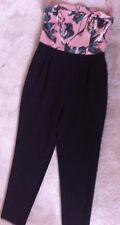 size 12 River Island women's strapless jumpsuit