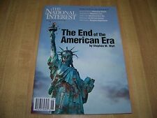 The National Interest magazine November 2011