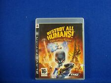 *ps3 DESTROY ALL HUMANS! Path Of The (no manual) Furon Alien Destruction PAL