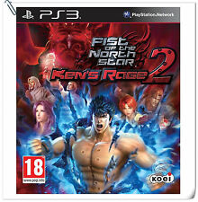 PS3 Fist of the North Star Ken's Rage 2 Shin Hokuto SONY Koei Tecmo Action Games