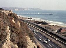 Photo. 1955-6. Capistrano Beach, California.  Sky View