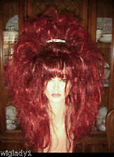 **EMPRESS BIANCA DRAG QUEEN BEAUTIFUL LONG STRAIGHT RED