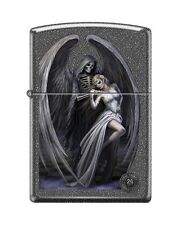 Zippo 0572 Anne Stokes Grim Reaper & Woman Iron Stone Full Size Lighter