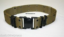 ROTHCO MILITARY STYLE COYOTE BROWN INDIVIDUAL EQUIPMENT PISTOL BELT SIZE LARGE