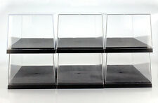 6 Carton Triple9 Acrylic Display cases for Model cars on a scale of 1:18