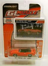 1971 '71 PONTIAC GTO JUDGE CONVERTIBLE DIECAST GL MUSCLE R15 GREENLIGHT 2016