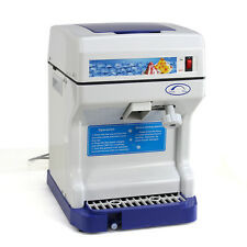 Tabletop Electric Ice Shaver Machine Ice Crusher Shaved Ice Snow Cones Make