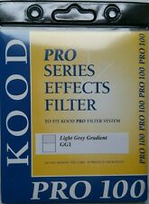 Genuine New Kood  Pro100 Cokin Z Fit Ligh Grey Grad Filter 100 x125mm