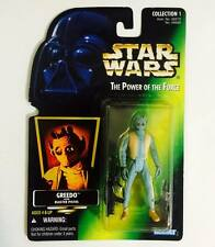 "HASBRO / KENNER STAR WARS 3.75INCH POWER OF THE FORCE "" GREEDO "" - RARE"