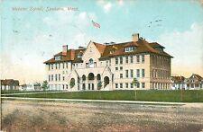 A View of the Webster School, Spokane WA 1919