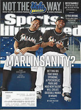 "Sports Illustrated 3/5/2012 ""MARLINSANITY?"" Miami Marlins Guillen and Reyes"