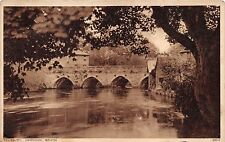 SALISBURY WILTSHIRE UK HARNHAM BRIDGE~PHOTOCHROM POSTCARD
