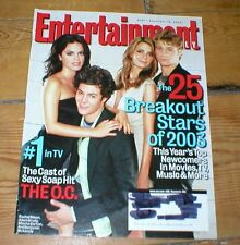 ENTERTAINMENT WEEKLY RACHEL BILSON ADAM BRODY MISCHA BARTON Shia LaBeouf Ali G