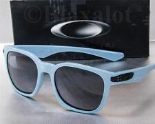 NEW OAKLEY GARAGE ROCK SUNGLASSES Blue frame / Grey lens MSRP $120