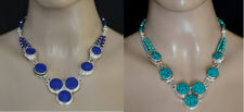 Wholesale Lot of 2 Pcs Sterling silver Necklace Ethnic Handmade Turquoise KKL1