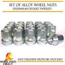 Set De 20 * 12x1.5 Mm 12x1.5 aleación de acero rueda Lug Nuts 60 Grados cónico Pernos