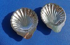 New listing Shell Dishes Oneida Silversmith circa 1980's Set of Two