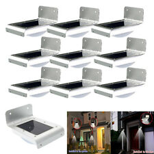 Lot10 16 LED Solar Power PIR Motion Sensor Garden Lamp Outdoor Waterproof Light