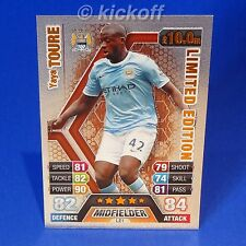 Match Attax Extra 13-14: TOURE * BRONZE * Limited Edition. RARE. Man City. 2014