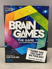 Brain Games The Game Board Game By National Geographic Made To Blow Your Mind!