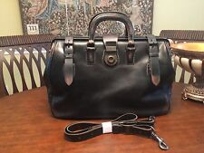 FOSSIL Carpenter   Burnished  Leather  Doctor bag /  Briefcase / Messenger Bag
