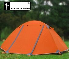 Double layer professional Outdoor Camping Tent 2-3persons 4 Season Aluminum pole